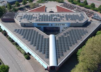 Rijnlands Lyceum installeert ruim 990 zonnepanelen