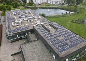 Stedelijk Gymnasium Leiden plaatst ruim 1000 zonnepanelen